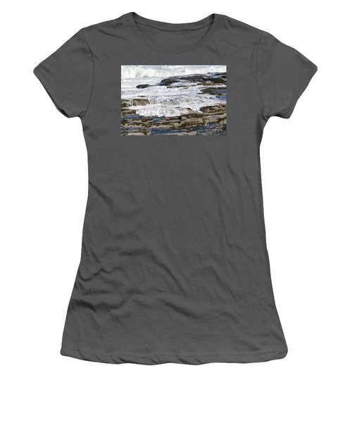 Coastal Washout Women's T-Shirt (Athletic Fit)