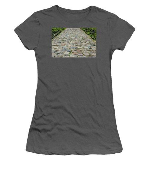 Cobbled Causeway Women's T-Shirt (Athletic Fit)
