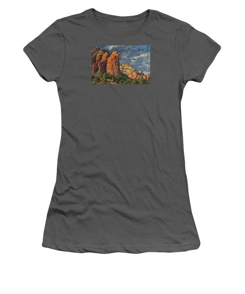 Coffee Pot Rules Women's T-Shirt (Junior Cut) by Tom Kelly