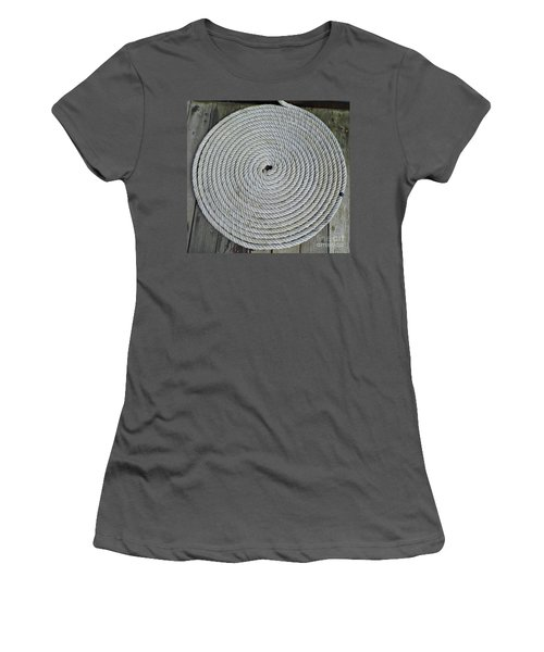 Coiled By D Hackett Women's T-Shirt (Athletic Fit)