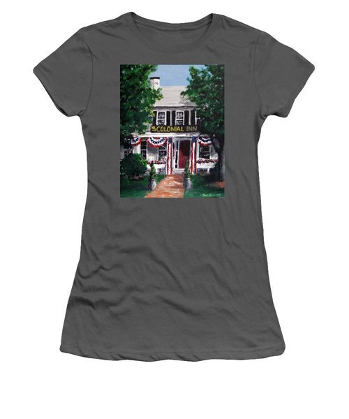 Colonial Inn Women's T-Shirt (Athletic Fit)