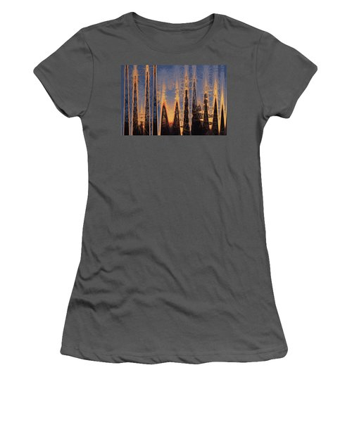 Color Abstraction Xl Women's T-Shirt (Athletic Fit)
