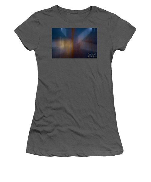 Color Abstraction Xxix Women's T-Shirt (Junior Cut) by David Gordon