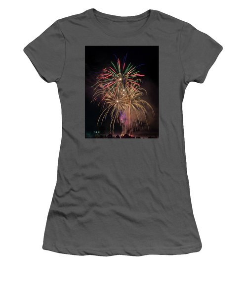 Women's T-Shirt (Athletic Fit) featuring the photograph Color And Chaos by Bill Pevlor