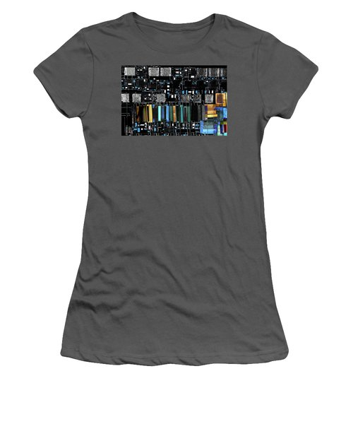 Color Chart Women's T-Shirt (Athletic Fit)