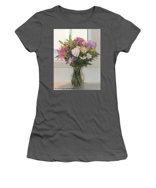 Color Me Happy Women's T-Shirt (Junior Cut) by Nance Larson