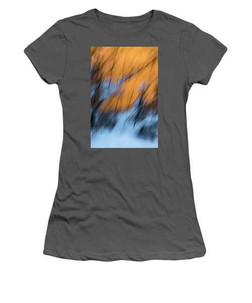Colorado River Snow Banks Women's T-Shirt (Athletic Fit)