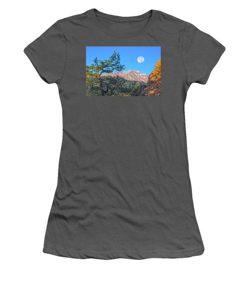 Colorado Rocky Mountain High, Just A Breath Away From Heaven Women's T-Shirt (Athletic Fit)