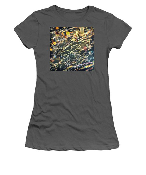 Rainbow Network Women's T-Shirt (Athletic Fit)