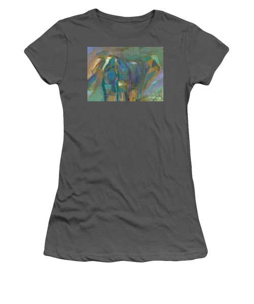 Women's T-Shirt (Junior Cut) featuring the painting Colors Of The Southwest by Frances Marino