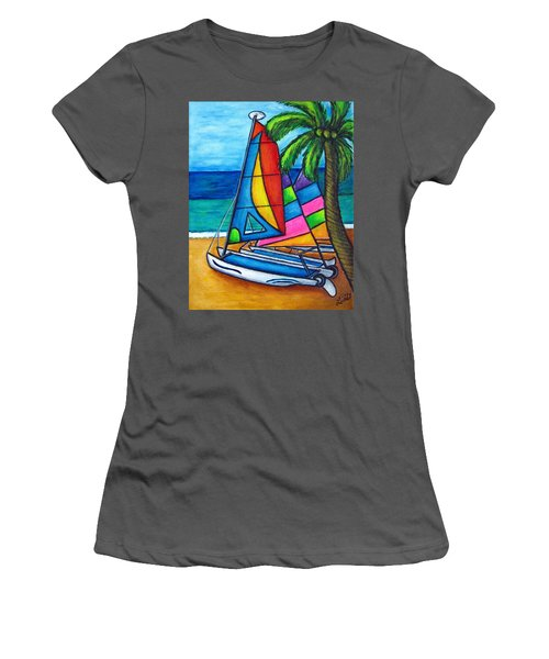 Colourful Hobby Women's T-Shirt (Athletic Fit)