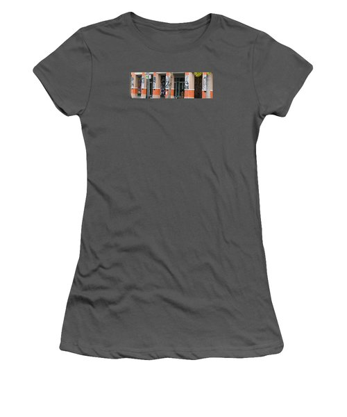 Columnart Women's T-Shirt (Athletic Fit)