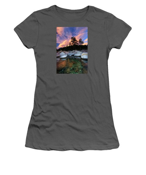 Come Into My World Women's T-Shirt (Junior Cut) by Sean Sarsfield