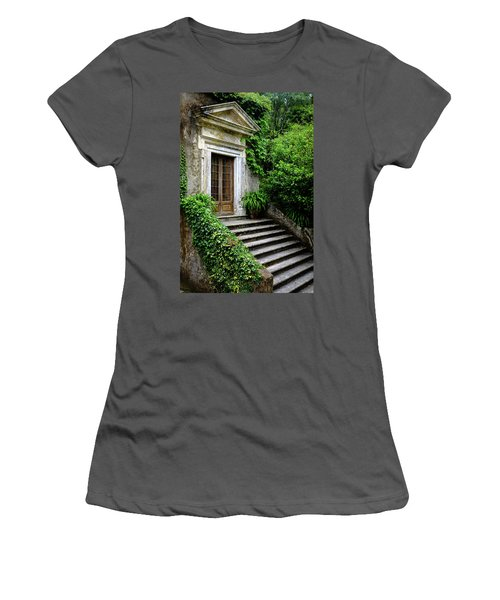 Women's T-Shirt (Junior Cut) featuring the photograph Come On Up To The House by Marco Oliveira