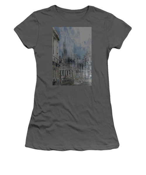 Comes The Night - City Deamscape Women's T-Shirt (Athletic Fit)