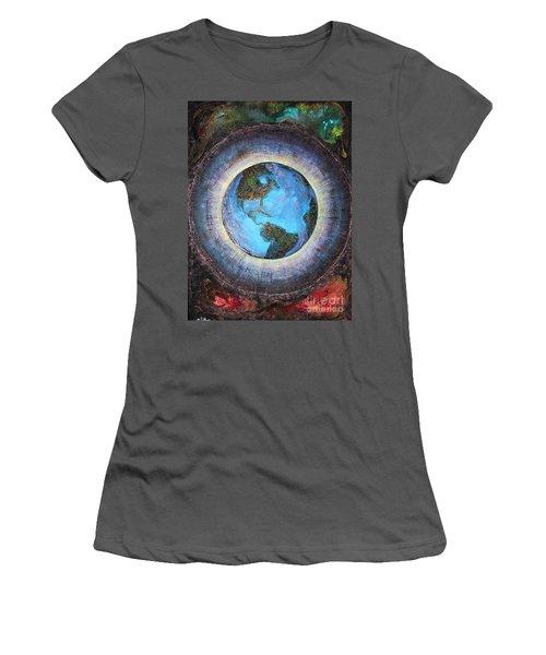 Common Ground Women's T-Shirt (Junior Cut) by Farzali Babekhan
