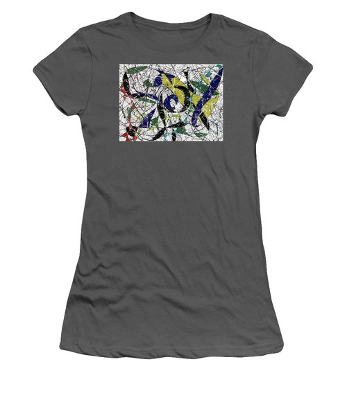 Composition #19 Women's T-Shirt (Athletic Fit)