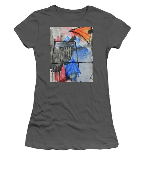 Composition 20188 Diptych Left Panel Women's T-Shirt (Athletic Fit)