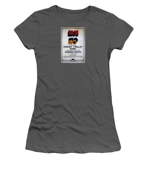 Concert Poster 5 Women's T-Shirt (Athletic Fit)