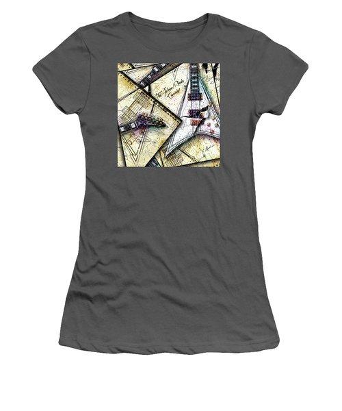 Concordia Women's T-Shirt (Junior Cut) by Gary Bodnar