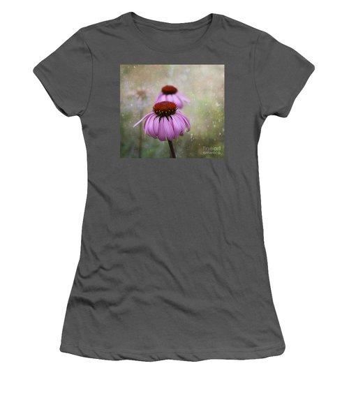 Coneflower Dream Women's T-Shirt (Athletic Fit)