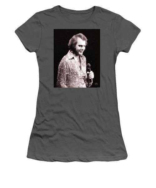 Connecting With The Audience Women's T-Shirt (Junior Cut) by Ron Chambers