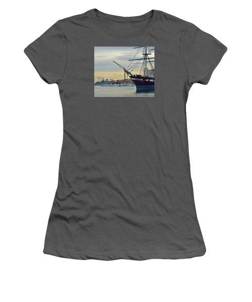 Constellation And Domino Sugars Women's T-Shirt (Junior Cut) by William Bartholomew