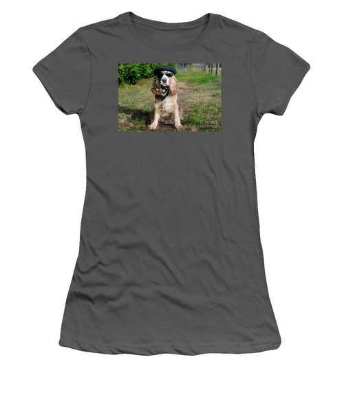 Cool Dog Women's T-Shirt (Athletic Fit)