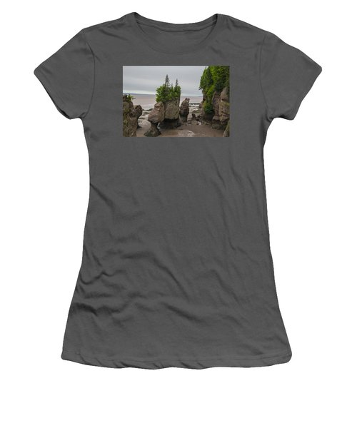 Cool Rocks Women's T-Shirt (Athletic Fit)