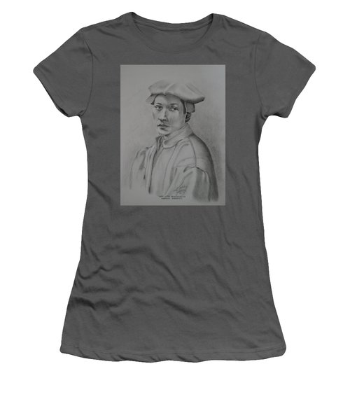 Copy After Michelangelo's Andreas Quaratesi Women's T-Shirt (Athletic Fit)