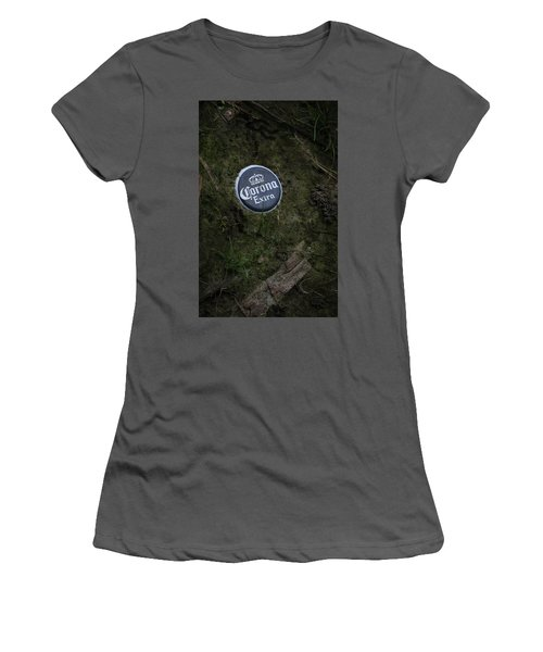 Women's T-Shirt (Junior Cut) featuring the photograph Corona Extra by Ray Congrove