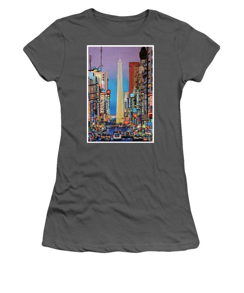 Corrientes Avenue Women's T-Shirt (Athletic Fit)