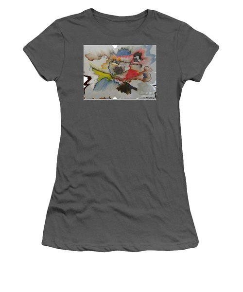Cosmic Dance Women's T-Shirt (Athletic Fit)