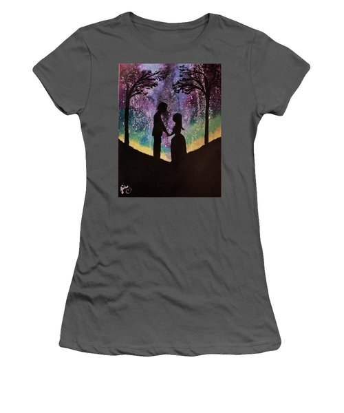 Cosmic Love  Women's T-Shirt (Athletic Fit)
