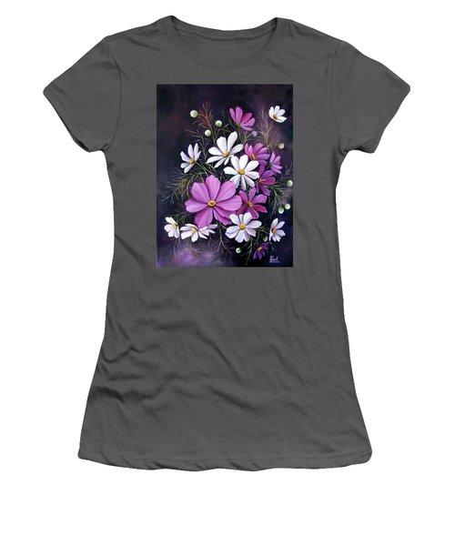 Cosmos Women's T-Shirt (Junior Cut) by Katia Aho