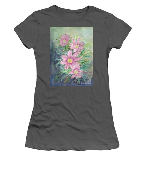 Cosmos - Painting Women's T-Shirt (Athletic Fit)