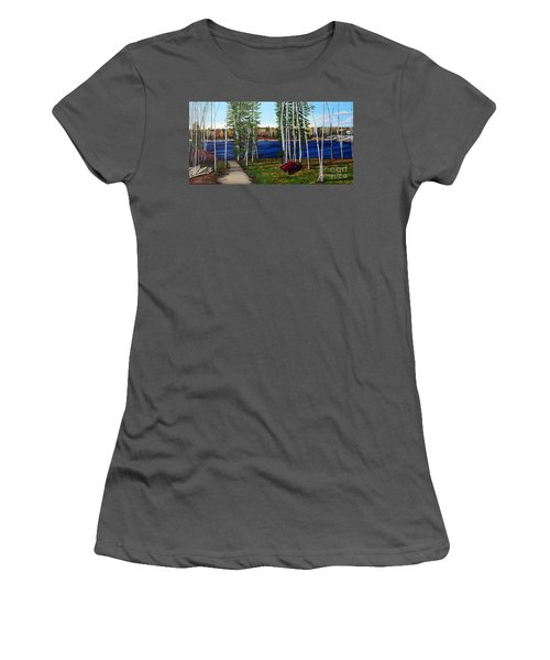 Cottage Life Women's T-Shirt (Athletic Fit)