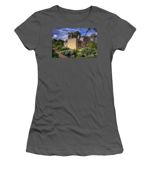 Cottage Women's T-Shirt (Athletic Fit)