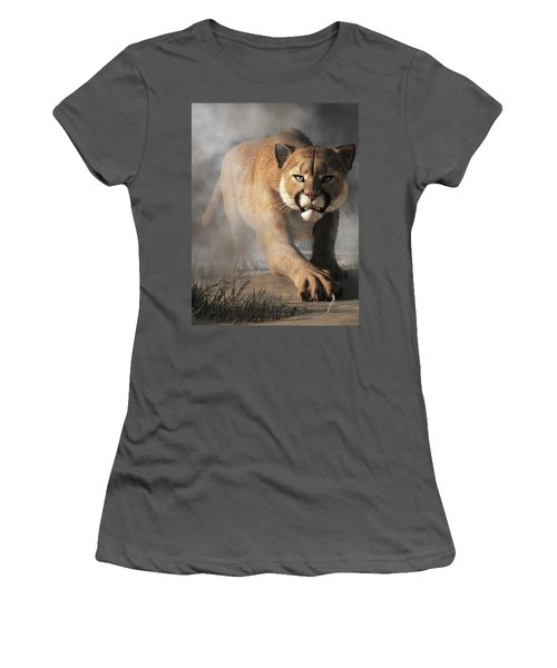 Cougar Is Gonna Get You Women's T-Shirt (Athletic Fit)