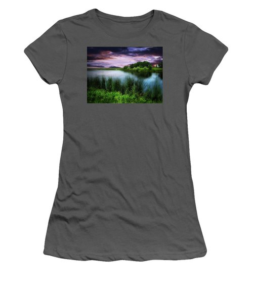 Country Lake Women's T-Shirt (Athletic Fit)