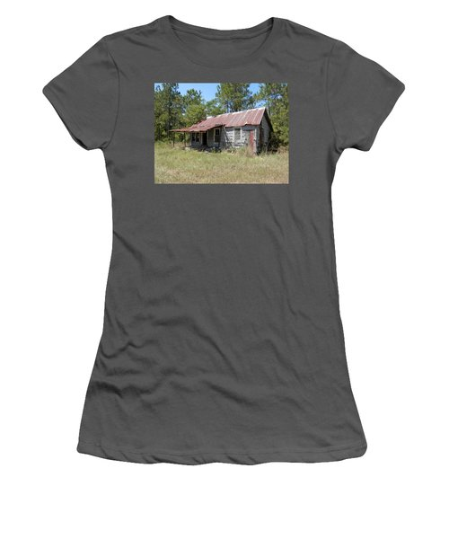 Country Living Gone To The Dawgs Women's T-Shirt (Junior Cut) by Belinda Lee