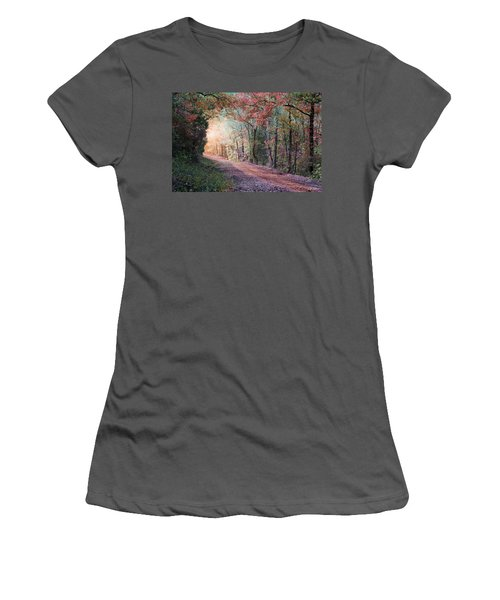 Country Road Women's T-Shirt (Junior Cut) by Bill Stephens