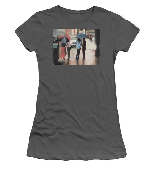 Couples Women's T-Shirt (Athletic Fit)