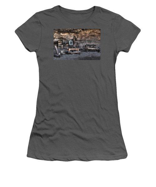Cowboy Camp 1880s Women's T-Shirt (Athletic Fit)