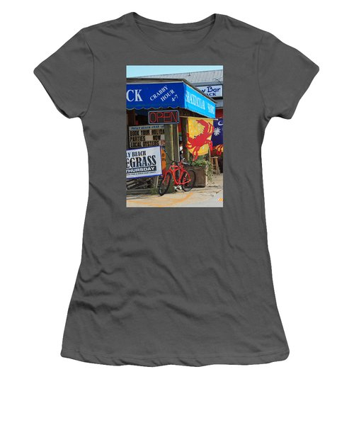 Crabby Hour 4-7 Women's T-Shirt (Junior Cut) by Suzanne Gaff