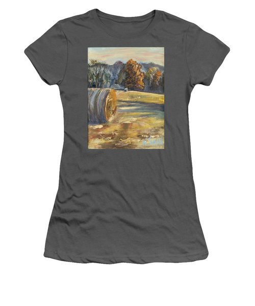 Crisp Air And Sunset Kisses Women's T-Shirt (Athletic Fit)