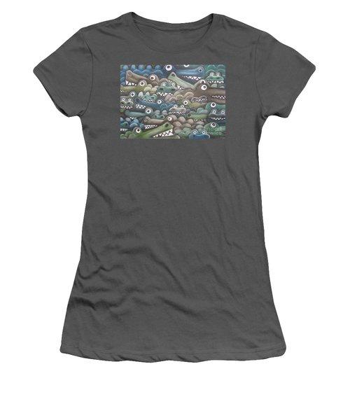 Crocodile Soup Women's T-Shirt (Athletic Fit)