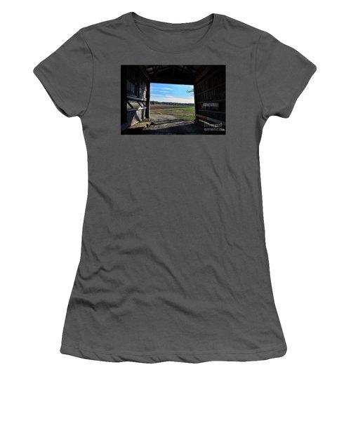 Crooks Bridge Women's T-Shirt (Junior Cut) by Joanne Coyle