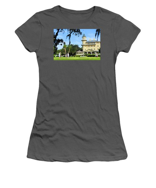 Croquet Anyone? Women's T-Shirt (Junior Cut)