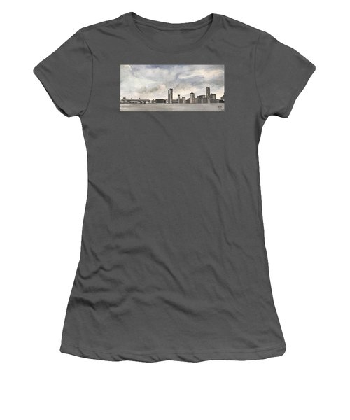 'cross The Mersey Women's T-Shirt (Athletic Fit)